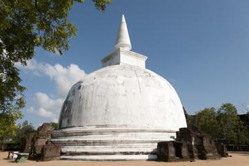 Stupa in Polonnaruwa Sri Lanka