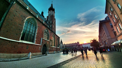 Place de Cracovie - Pologne