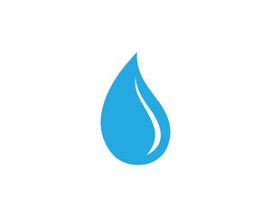 Water nature logo and symbols