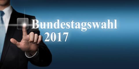 Bundestagswahl 2017 - touchscreen