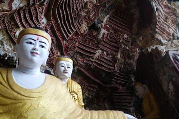 ミャンマーの洞窟
