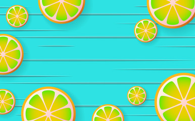 lemonade Vector background