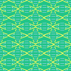 Summer tribal pattern vector seamless. Abstract rhombus texture. Colorful ethnic background for african fabric, wallpaper, blanket, wrapping paper and aztec boho card template.