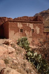 Village in the Atlas Mountains of Morocco