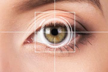 Eye monitoring virtual reality.