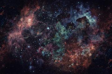 Obraz mgławicy w przestrzeni kosmicznej. Elementy tego obrazu dostarczone przez NASA.