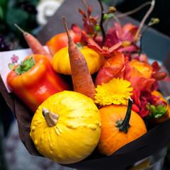 Autumn creative bouquet