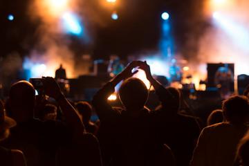 Festivalbesucher Konzertbesucher