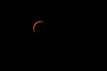 Peak Partial Eclipse From Seattle on August 21, 2017
