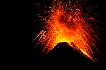 Foto op Textielframe Vulkaan Vulkan Acatenango