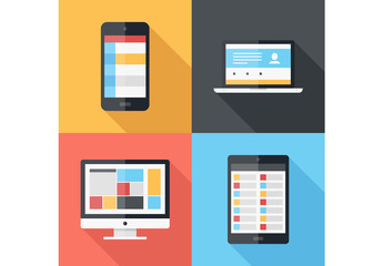 4 Large Device Icons 1