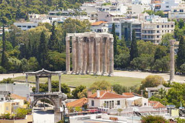 Temple of Zeus Athens Greece