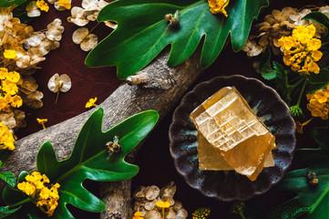Honey Calcite