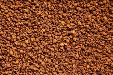 Soluble coffee powder - high definition pattern