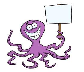 Octopus Sign