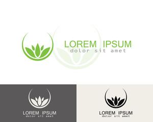 round lotus logo