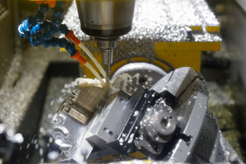 milling metalworking process