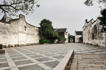 Wuzhen Ancient Water Town in early morning,China.