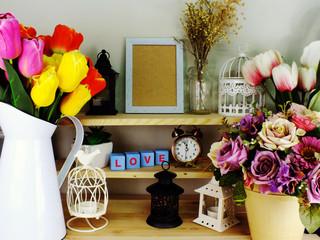 mock up photo frame home decor