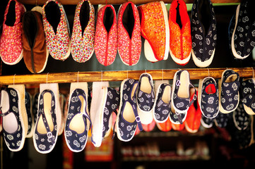 Chinese traditional cloth shoes