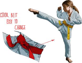Karateka Girl