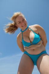 Bikini Bending Over