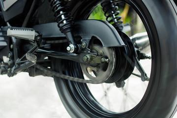 Motorcycle wheel sport Running fast