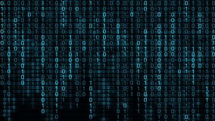 Binary Codes Blue