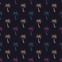Coconut Tree Summer Pattern 3