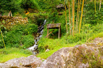 Natural landscape of the Northern Vietnam
