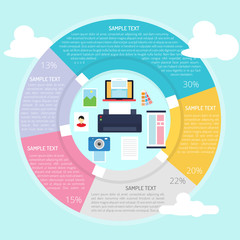 Printing Design Infographic