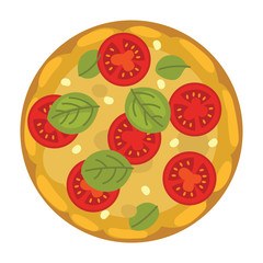 popular pizza. Italian cook and pizzas delivery.