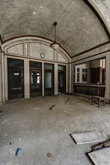 Arched Lobby - Abandoned Railroad / Train Station
