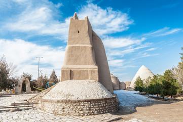 Fortress walls, called Ghal'eh Jalali in Kashan, Iran