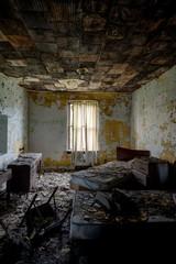 Patient Room - Abandoned Hospital & Nursing Home