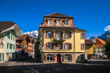 Old Swiss House in Unterseen - Interlaken, Switzerland