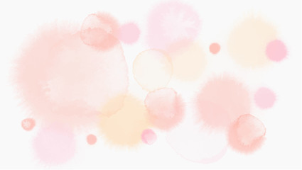 pastel tone color abstract vector background, look like watercolor drop style