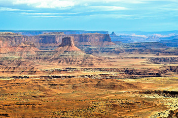 Large parks in the United States. Utah desert