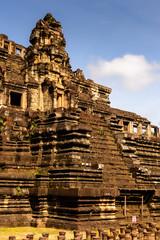 Baphuon, a temple at Angkor, Cambodia. Built as the state temple of Udayadityavarman II dedicated to the Hindu God Shiva.