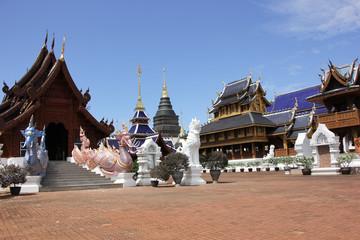 Banden Temple, Beautiful temple in chiangmai