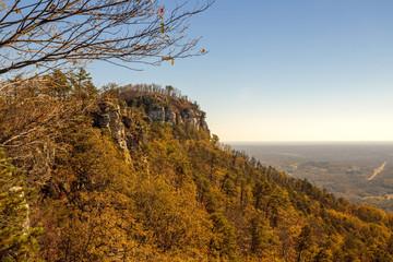 fall at Pilot Mountain North Carolina