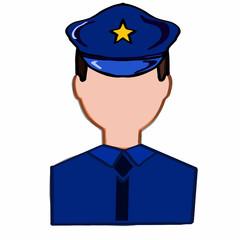 police man icon