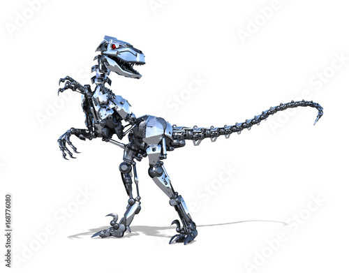 Robot Raptor Dinosaur