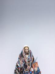 Virgin Mary in an hospital