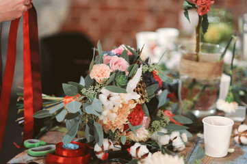 Florist workspace