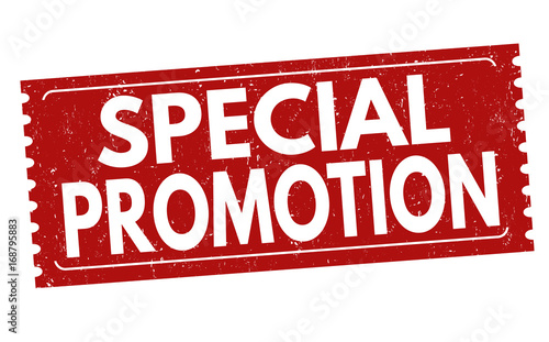 """Special promotion sign or stamp"" Stock image and royalty ..."