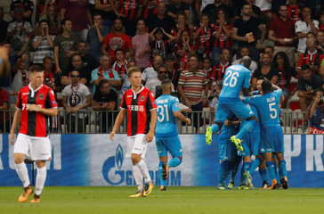 Champions League Playoffs - Nice v Napoli