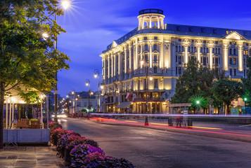 Hotel Bristol, Krakowskie Przedmieście, Warszawa