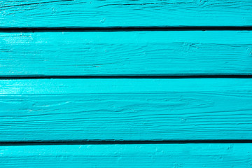 Background of blue boards