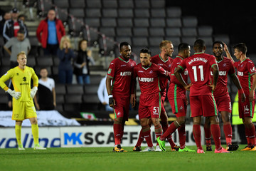 Carabao Cup Second Round - Milton Keynes Dons vs Swansea City